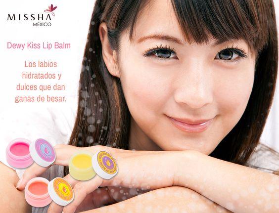 Quieres tener unos labios bellos y suaves antes de tu cita? El bálsamo de labios Dewy Kiss es la solución!!!  Disponibles en → http://ow.ly/QJF4r  Yo soy #MisshaGirl