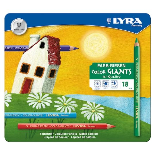 Lyra Colorgiants Colored Pencils Set Michaels Coloured