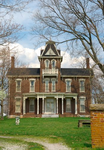 1800s Country Homes: Italianate And Second Empire
