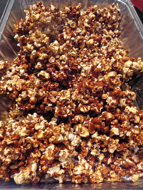 The Hidden Pantry: Carmel Corn  Just like Cracker Jack, maybe I should try for college finals care packages.