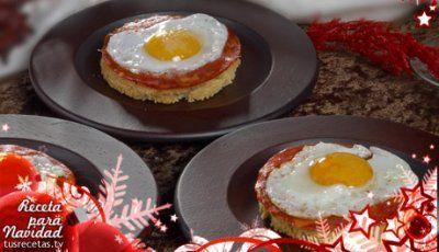 Canap de chorizo y huevos de codorniz pasabocas for Chorizo canape ideas