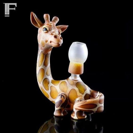 giraffe dab rig unknown artist cannabis pipes amp bongs