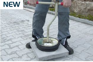 Handy Vacuum - A great way to install slabs and paving stones.  #toolhire #equipmenthire #hss #hsshire #slablifting #blocklifting