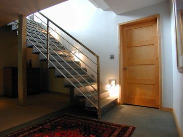 interior spaces - contemporary - Staircase - Milwaukee - Fein Design