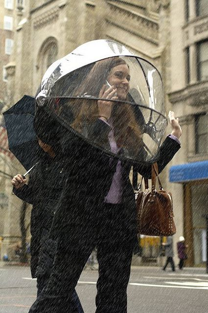 The Hands Free Umbrella