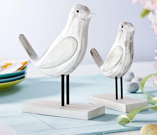 drevené vtáčiky