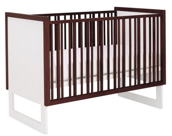 Modern, gender neutral crib from @Nursery Works