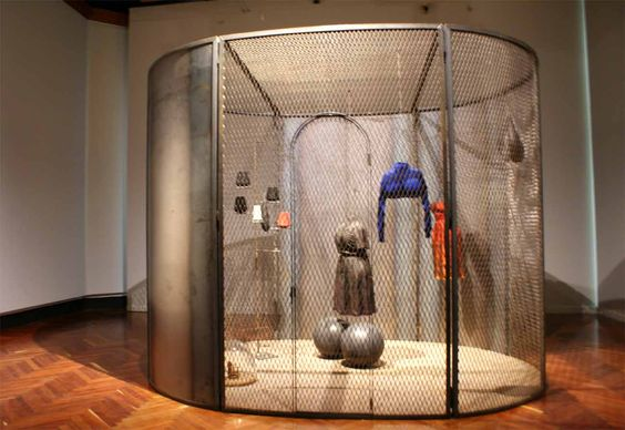 Exposición en el Museo del Palacio de Bellas Artes.  Celdas