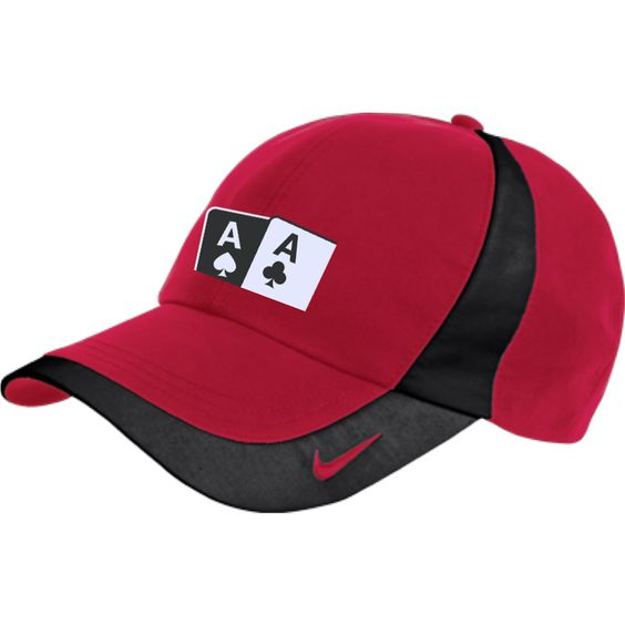 Nike Colorblock hat (As Ac on front)