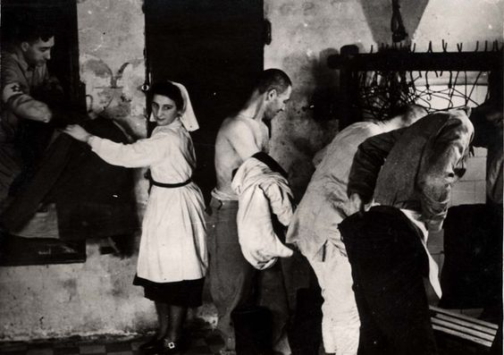 Warsaw, Poland, A disinfecting station in the ghetto, 1940-1943.