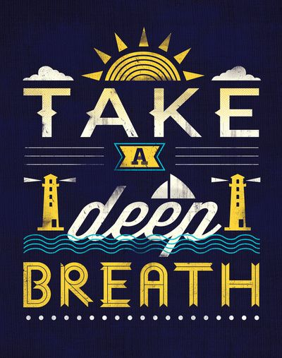 Take a deep breath. Realize that you are OK.