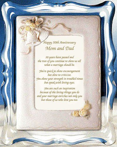 Anniversary Poems Golden Anniversary And Anniversary Pictures On Pinterest