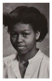 Happy 50th Birthday Michelle Obama (born Michelle LaVaughn Robinson January 17, 1964). View the First Lady in the 1979 Young Magnet High School yearbook! #MichelleObama