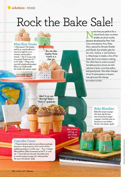 Tolle Tipps für Kuchenbasare