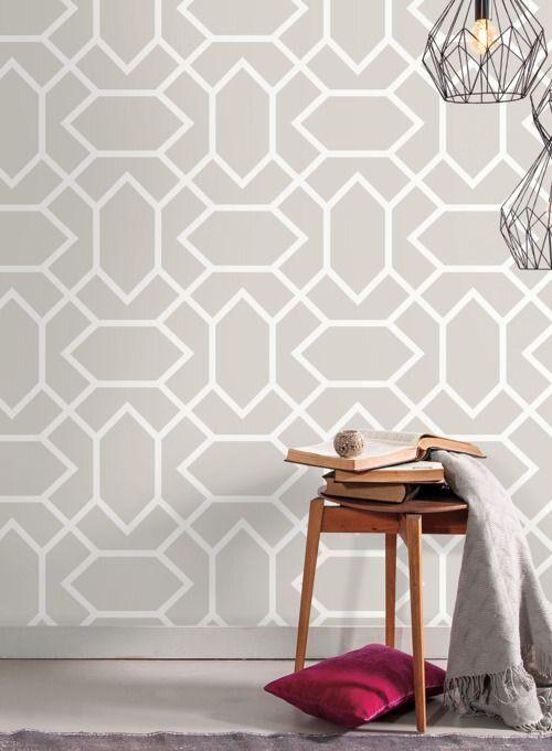 Rmk9065wp Modern Geometric Peel Stick Wallpaper Jojo Design Studio In 2020 Peel And Stick Wallpaper Jojo Designs Wallpaper