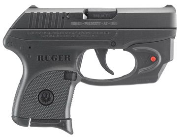 Ruger® LCP® * Centerfire Pistol Model 3752 with Viridian® E-Series laser.