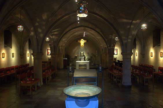 Copley Crypt Chapel of the North American Martyrs, Georgetown University, Washington DC