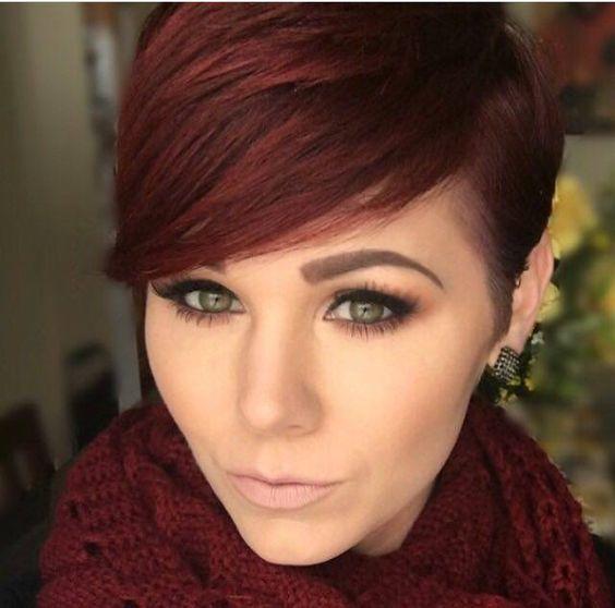 Je+rode+haar+kort+laten+knippen?+Doe+inspiratie+op+met+deze+12+korte+kapsels+voor+rood+haar!