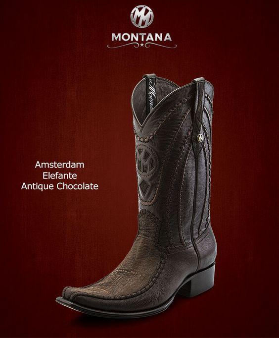#Montana #Botas #Amsterdam #Elefante #Modelo AM104EL #Color Antique Chocolate #MontanaisBack