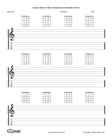 Ukulele blank ukulele tablature sheets : Pinterest • The world's catalog of ideas