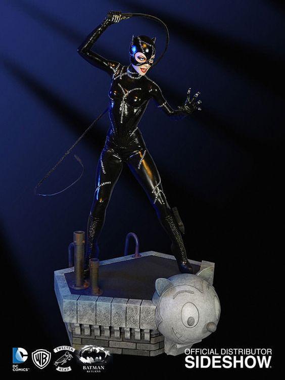 Batmans Rückkehr Maquette Catwoman 43 cm  DC Comics - Hadesflamme - Merchandise - Onlineshop für alles was das (Fan) Herz begehrt!