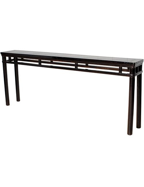 Long narrow sofa table coffee side tables pinterest