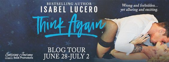 #BlogTour – Think Again by Isabel Lucero | Ali - The Dragon Slayer http://cancersuckscouk.ipage.com/blogtour-think-again-by-isabel-lucero/