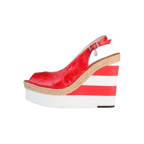 Primadonna Sandalette plateau pumps high heels damen schuhe: Amazon.de: Schuhe & Handtaschen