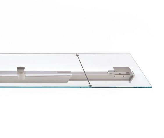 Detail-Aufnahme von ausziehbarer Glastisch von Tonin CASA Homesthetics SHANGHAI (1)