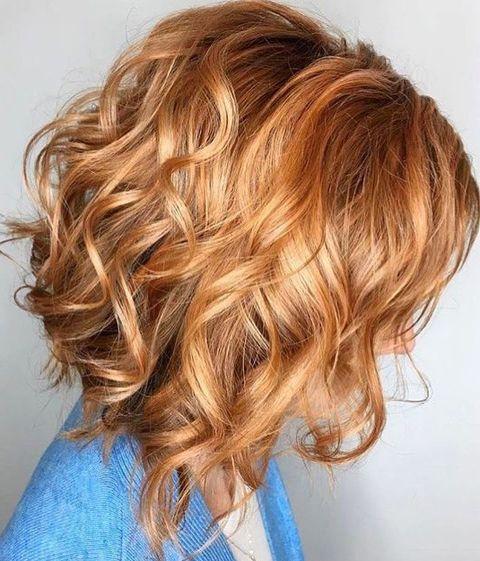 Chopper Hair Color Ideas For Wavy Hairstyles 2019 Light Hair