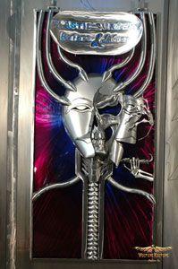 """Plastic Surgery"" 4'X8' 16 gauge steel sculpture by Dan Statler #vulturekulture"