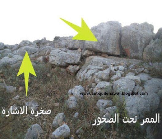 اشارة سمكة حفر وبجانبها على نفس الصخرة جرن صينية Wind Turbine Turbine Wind