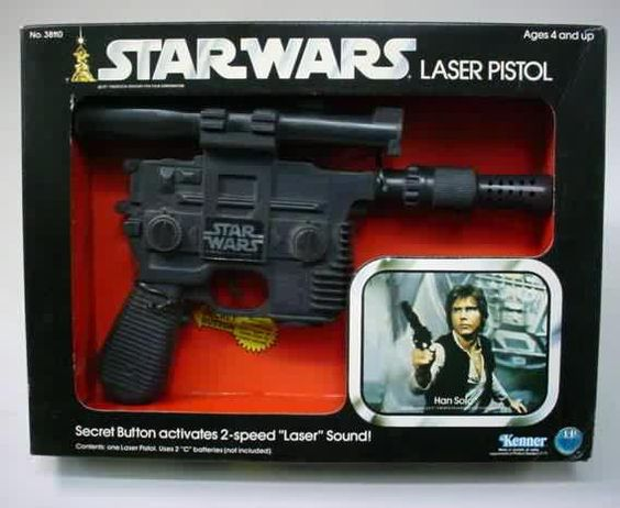 Star Wars Toy Guns : Pistols han solo and star wars on pinterest