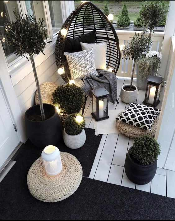 Simplicity And Elegance #balconydecor
