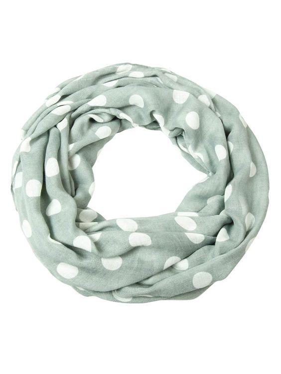 Style & Co. Women's Polka Dot Print Infinity Loop Scarf