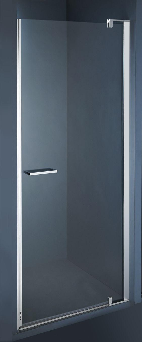 De elegante Stilla douchedeur S1 is tot stand gekomen door een samenwerking tussen Italiaanse designers en een Belgische fabrikant. / La porte de douce élégante, Stilla, est le résultat d'une coopération entre des designer italiens et un fabricant belge.
