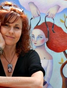 Read our interview with Isabelle Bryer, French artist who has also been an expat for 20 years in the City of Angels...!