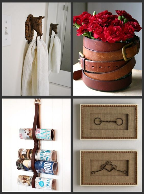 Pinteresting Finds 7 Upcycled Equestrian Decor See Horse Design Dd Stuff Pinterest