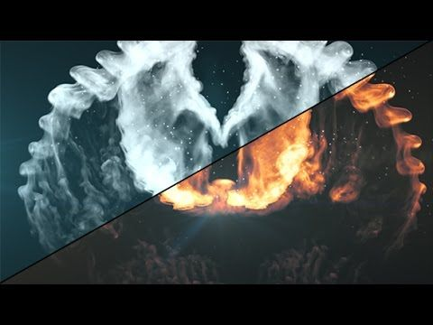 After Effects Tutorial Phoenix Fire Wings Youtube