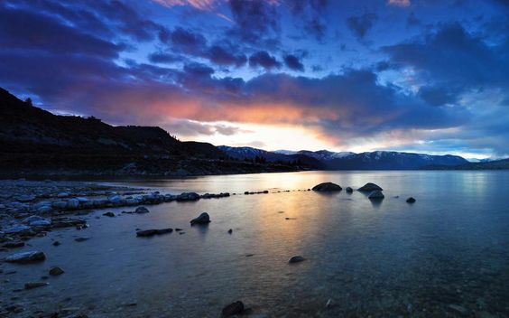 Lake Chelan! Must visit someday....for obvious reasons :)