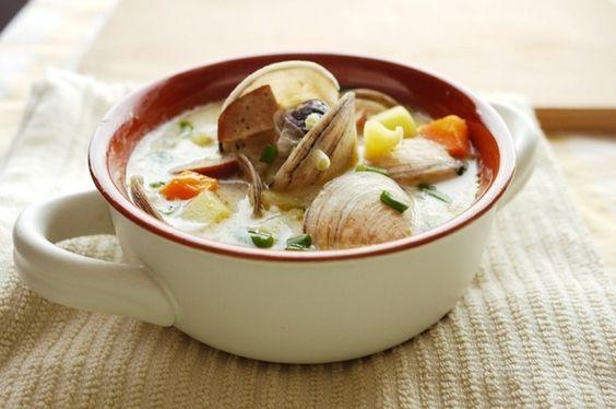 New England Clam Chowder #recipe #soup
