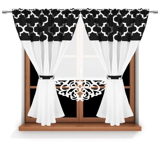 Firany Firanki Kpl Koral Dzieci Zaslony Panele 7354614358 Oficjalne Archiwum Allegro Decor Home Decor Curtains