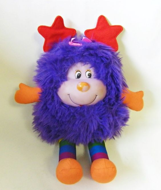 Vintage Rainbow Brite Hatful Sprite Doll 1983. $39.99, via Etsy. Cool! I loved Rainbow Brite!