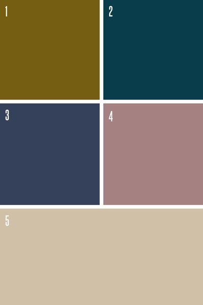 Peinture couleurs ultra tendance, couleurs sombres - CôtéMaison.fr