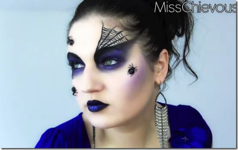 Maquillaje de Bruja Sexy Halloween -Gladys Pastor make-up your - maquillaje de bruja