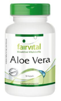 Aloe Vera Kapseln - 90 Kapseln | Vitalstoffe & Gesundheitsprodukte online kaufen | Fairvital