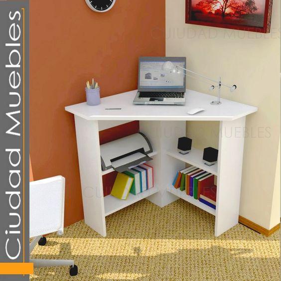 Escritorio esquinero para notebook oferta lanzamiento - Como hacer una mesa escritorio ...