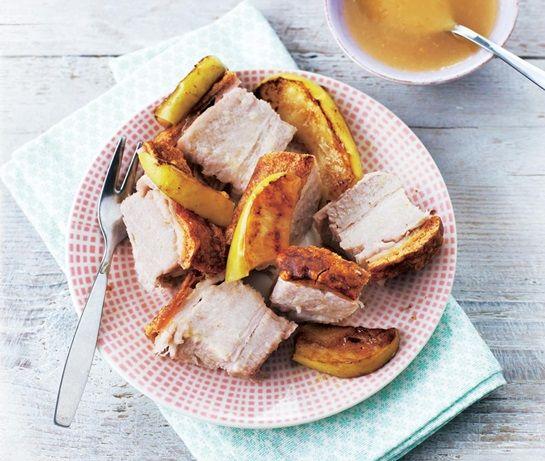 Recipe for pork and cider sauce