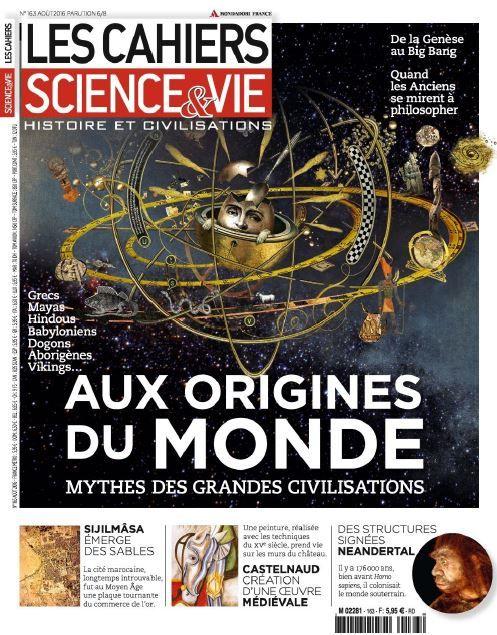 Ebooks Gratuits En Ligne: Les Cahiers De Science et Vie N°163 - Aout 2016 [26 MB]