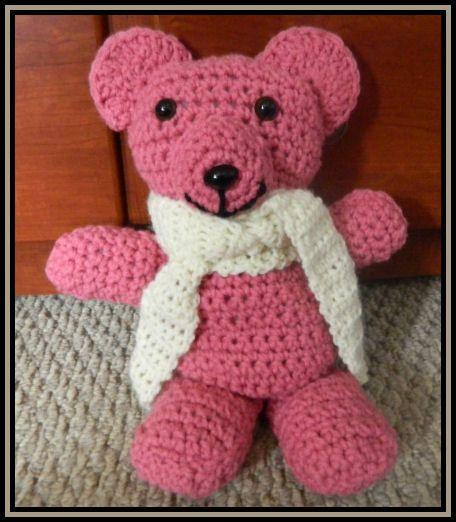 Beginner Crochet Patterns: Super Easy Crochet Teddy Bear Pattern crocheted ...